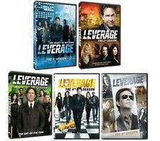 Leverage Complete TV Series Season 1-5 (1 2 3 4 & 5) NEW 20-DISC DVD BUNDLE SET