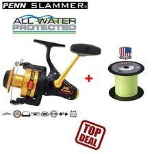 Penn Slammer 560 + 350m Berkley nanofil 0,25mm Waller heilbut Dorsch