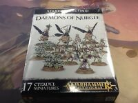 40K Warhammer AOS Daemons of Nurgle Start Collecting! NIB