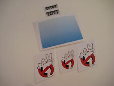 Kenner The Real Ghostbusters  Custom ECTO 2 Replacement Stickers - B2G1F