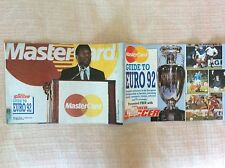 CAMPIONATO EUROPEO DI CALCIO EUROPEI '92 GUIDA WORLD SOCCER MASTERCARD PELE'