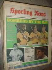 "May 16 1988 ""The Sporting News"" A's Parker, Canseco, McGwire, Fain, Pete Rose"