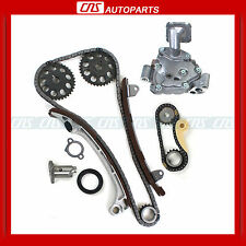 FOR 01-10 TOYOTA SCION 2.4L TIMING CHAIN W/ OIL PUMP 2AZFE ENGINE CAMRY HYBRID