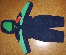 Schneeanzug Gr 74 blau-grün von Mini - Neu