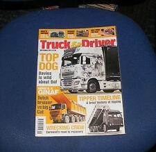 TRUCK & DRIVER SEPTEMBER 2013 - DUTCH BRUISER vs BIG CAT/TIPPER TIMELINE