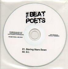 (873D) The Beat Poets, Staring Stars Down / GI - DJ CD
