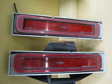 LINCOLN MARK VII SPECIAL EDITION 90-92 REAR SIDE MARKER LIGHT & BEZEL SET SE RED