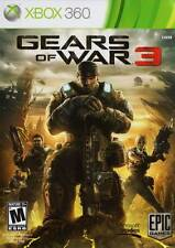 Gears Of War 3 Xbox 360 Great Condition Complete Fast Shipping