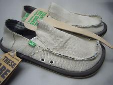 Sanuk Mens Hemp Smf1010 Natural Shoes Size 12