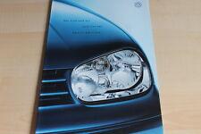 132656) VW Golf IV + Variant - Sport Edition - Prospekt 09/2000