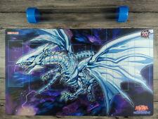 YuGiOh Blue-Eyes Alternative White Dragon Custom Playmat TCG Mat Free Best Tube