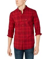 Levi's Mens Shirt Red Size 2XL Button Down Pocket Front Longsleeve $54 #235