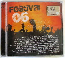 VARIOUS - FESTIVAL 06 - 2 CD Sigillato - Muse R.E.M. Coldplay Killers New Order