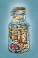 Counted Cross Stitch Kit MAKE YOUR OWN HANDS - Train to a Fairytale