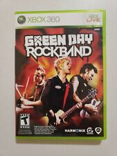 Green Day: Rock Band (Microsoft Xbox 360, 2010) Complete w/ Manual Video Game VG