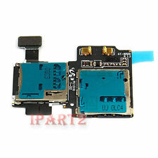 Micro SD Card Reader SIM Tray Holder Flex Cable for Samsung Galaxy S4 i9500 9505