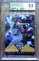 Chuck Knoblauch 1997 Pinnacle All-Star FanFest Playing Cards BGS graded 8.5 PSA