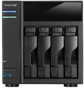 Asustor AS-204TE Network Attached Storage and Home Media server with RAID/X