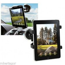 SUPPORTO A VENTOSA PER AUTO COMPATIBILE CON APPLE IPAD TABLET STAND UNIVERSALE