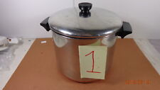 Revere Ware Copper Clad Stainless Steel 8 Qt Stock Pot with Lid.  #1