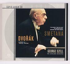 DVORAK: Symphony 7 Smetana Szell SONY DSD SACD Audiophile OOP Super NM