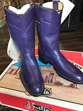 Justin Ladies  Roper Grape Kiddie size 4.5 L3758
