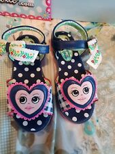 Iregular choice Girls Sandles Size 1 brand new boxed cost £50