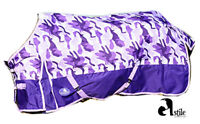Horse Lightweight Turnout Rug Standard Neck No Fill Free Delivery