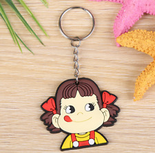 Hot Elite Soft Keychain Cute Little Gift Key Pendant Rubber Key Ring YSK25