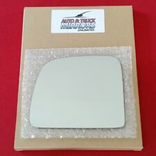 Mirror Glass + Adhesive For Ford Ranger, B2300, B2500 Driver Side Replacement