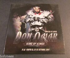 DON OMAR / CANCION DE AMOR / PROMO CD / SINGLE / MINT