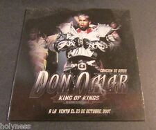 DON OMAR / CANCION DE AMOR / PROMO CD / SINGLE / MINT