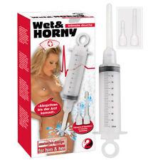 Intimdusche Anal Dusche Spritze mit 2 aufsätzen Einlauf Klistier Vaginal 100ml