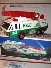 1996 NEW HESS GASOLINE EMERGENCY TRUCK NEW IN BOX MINT