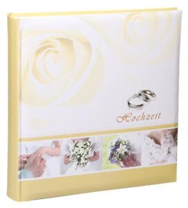 Ideal Hochzeit Fotoalbum in 30x30 cm 100 Seiten Wedding Foto Jumbo Buch Album