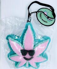 NEW PINK by Victorias Secret Bubble Babes Bath Sponge Pot Leaf Sealed coco chill