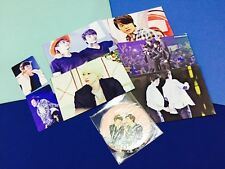 Super Junior D&E Donghae & Eunhyuk memorial fanclub official goods set
