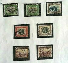 SOUTH  WEST AFRICA STAMPS- 7 -   GEO  V   MISC SELECTION- USED/ HINGED-