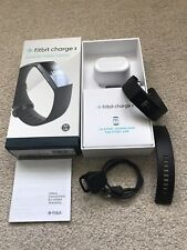 Fitbit Charge 3 Black, Boxed With Charger And Spare Strap