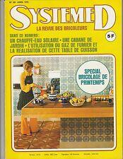 Magazine Système D N°351 avril 1975 bricolage