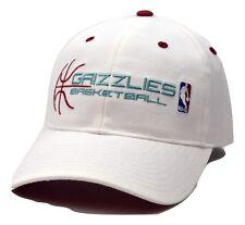 Memphis Grizzlies Reebok NBA Team Script White Adjustable Basketball Cap Hat