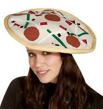 Adult Plush Pizza Hat Costume Headpiece Accessory Gc1908