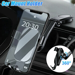 Universal Car Mount Holder Dashboard Stand Cradle Clamp Bracket For Cell Phone