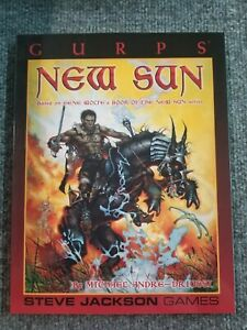 New Sun GURPS RPG by Steve Jackson Games SJG 6096 roleplaying game supplement