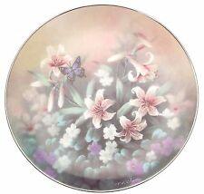 c1991 Knowles Jewels of the Flowers Amethyst Flight Tan Chun Chiu plate TN139
