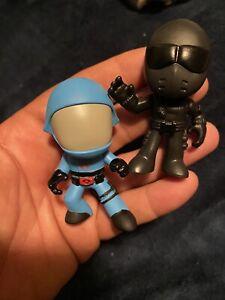 Mystery mini Gi Joe retro toys Cobra Commander 1/36 Snake Eyes 1/24