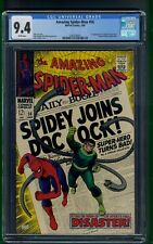 Amazing Spider-Man #56 (1968) CGC Graded 9.4 ~ 1st Capt. George Stacy ~ Stan Lee