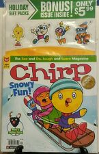 Chirp December 2015 Snowy Fun See Do Laugh Learn Holiday Treat FREE SHIPPING sb