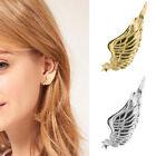 Fashion Gothic Punk Rock Earring Star Angel Wing Ear Cuff Warp Clip Ear Stud