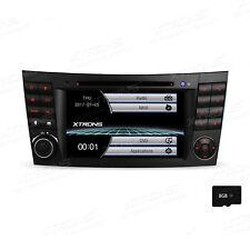 2 DIN Autoradio GPS Navi DVD Bluetooth USB SD für Mercedes Benz CLS-W219 E-W211